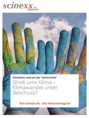 cover image of Streit ums Klima