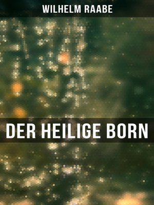 cover image of Der heilige Born