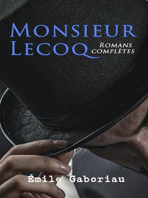 cover image of Monsieur Lecoq
