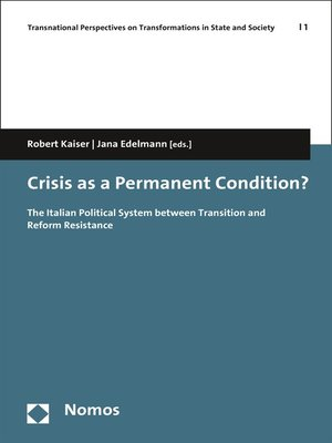 cover image of Crisis as a Permanent Condition?