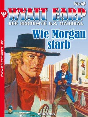 cover image of Wyatt Earp 63 – Western
