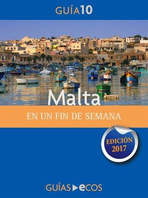 cover image of Malta. En un fin de semana