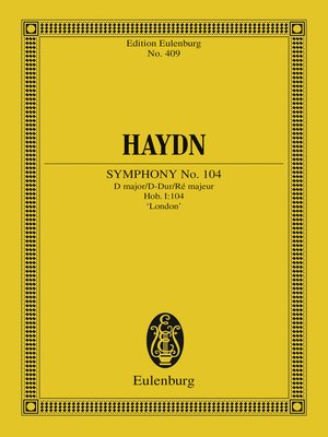 cover image of Symphony No. 104 D major