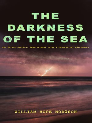 cover image of THE DARKNESS OF THE SEA