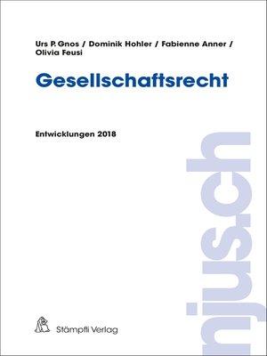 cover image of Gesellschaftsrecht