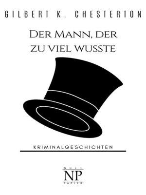 cover image of Der Mann, der zu viel wusste