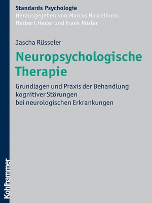 cover image of Neuropsychologische Therapie