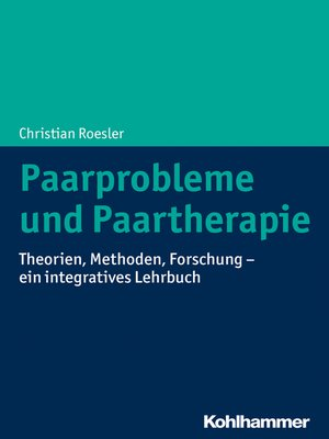 cover image of Paarprobleme und Paartherapie