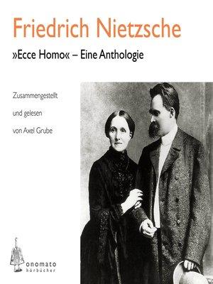 "cover image of ""Ecce homo"" – Eine Anthologie"