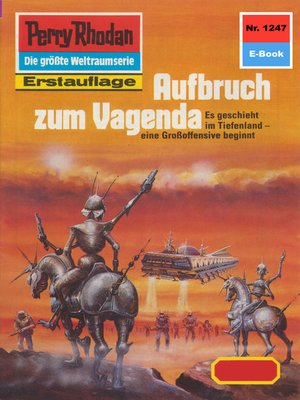 cover image of Perry Rhodan 1247