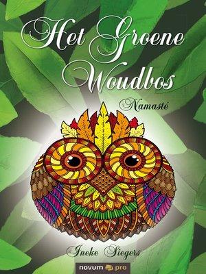 cover image of Het Groene Woudbos