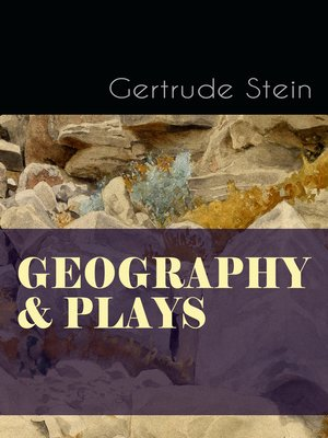 cover image of Geography & Plays