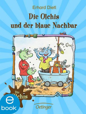 cover image of Die Olchis und der blaue Nachbar