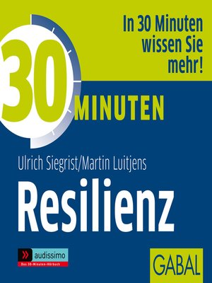 cover image of 30 Minuten Resilienz