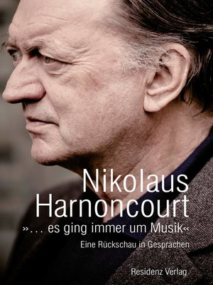 cover image of »... es ging immer um Musik«