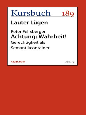 cover image of Achtung