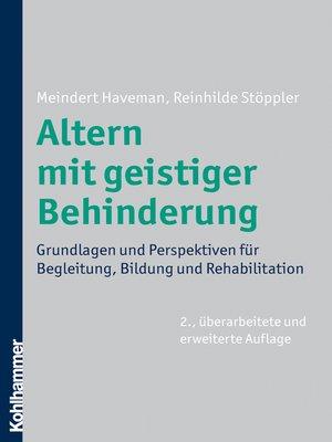 cover image of Altern mit geistiger Behinderung