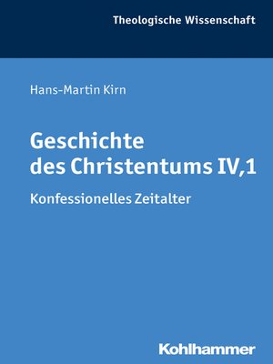 cover image of Geschichte des Christentums IV,1
