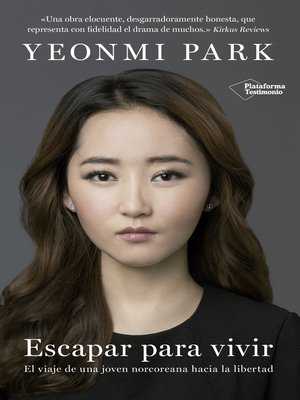 cover image of Escapar para vivir