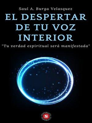cover image of El despertar de tu voz interior