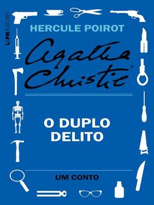 cover image of O duplo delito