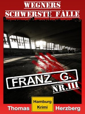 cover image of Franz G.--Thriller