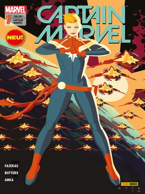cover image of Captain Marvel Band 1--Wächterin der Erde