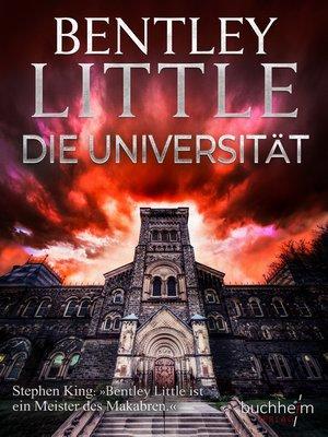 cover image of Die Universität