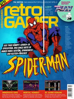 cover image of Retro Gamer 4/2019