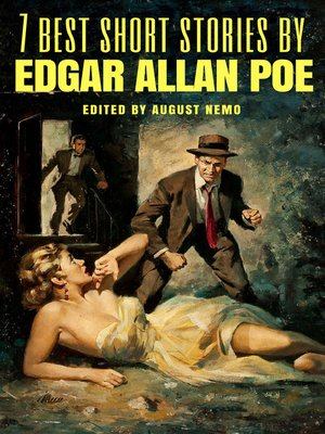 cover image of 7 best short stories by Edgar Allan Poe