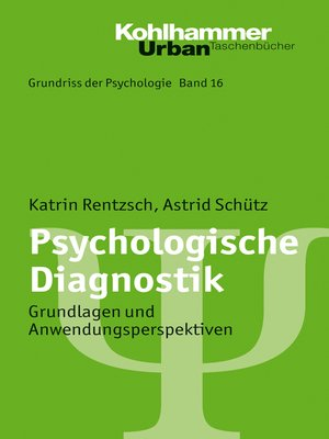 cover image of Psychologische Diagnostik