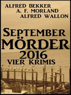 cover image of September-Mörder 2016