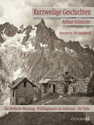 cover image of Kurzweilige Geschichten. Der Sohn, Die Dreifache Warnung und Frühlingsnacht im Seziersaal