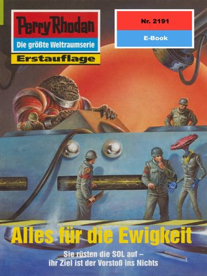 cover image of Perry Rhodan 2191