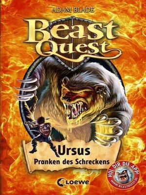 cover image of Beast Quest 49--Ursus, Pranken des Schreckens