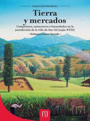 cover image of Tierra y mercados