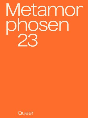 cover image of metamorphosen 23 – Queer