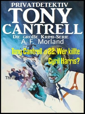 cover image of Tony Cantrell #22