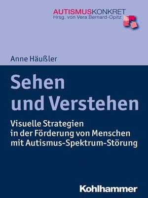 cover image of Sehen und Verstehen