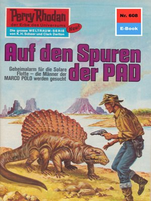 cover image of Perry Rhodan 608