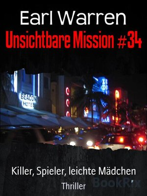 cover image of Unsichtbare Mission #34