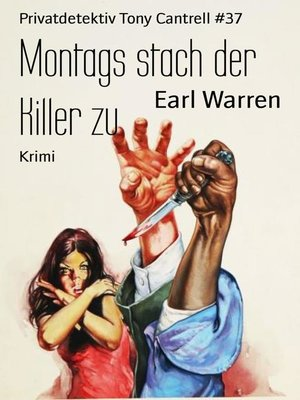 cover image of Montags stach der Killer zu