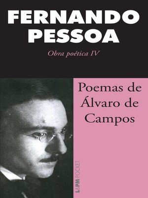 cover image of Poemas de Álvaro Campos