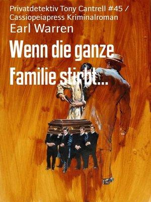 cover image of Wenn die ganze Familie stirbt...