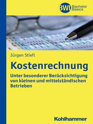 cover image of Kostenrechnung