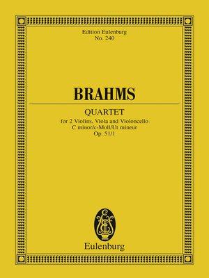 cover image of String Quartet C minor