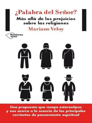 cover image of ¿Palabra del Señor?