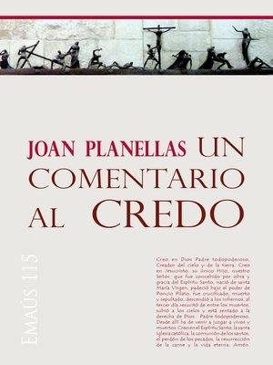 cover image of Un comentario al Credo