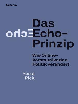 cover image of Das Echo-Prinzip