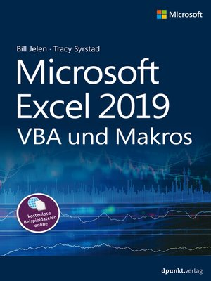 cover image of Microsoft Excel 2019 VBA und Makros